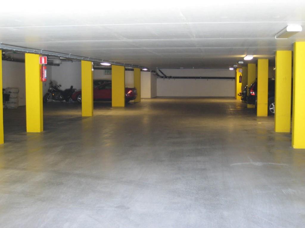 Garaget med 23 bilplatser