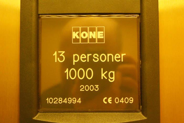 Hissens kapacitet