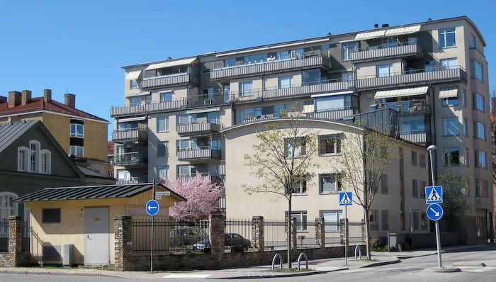 Grims Gård från Sysslomansgatan