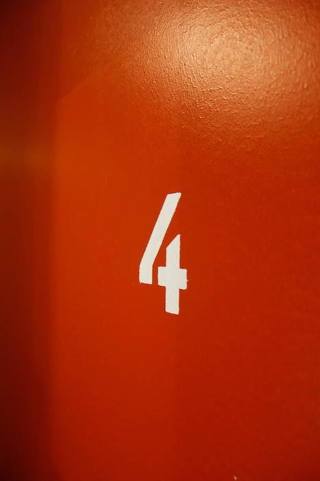 Vägg, våning 4